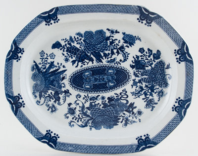Unattributed Maker Trophies Meat Dish or Platter c1840