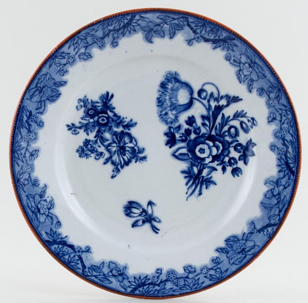 Unattributed Maker Unidentified Pattern Plate c1845