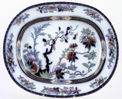 Spode India Tree colour Meat Dish or Platter c1881