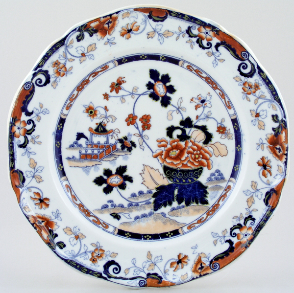 Minton Amherst Japan colour Plate c1830