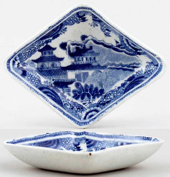 Spode Bridge Pickle Dish c1815