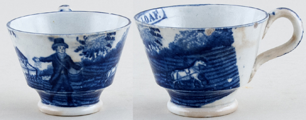 Unattributed Maker Progress of the Loaf Cup small Sower c1820s