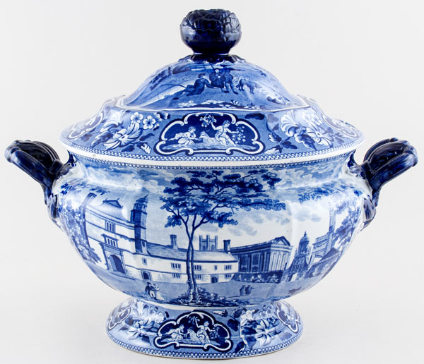 Ridgway Oxford and Cambridge College Series Soup Tureen Caius College Cambridge c1825