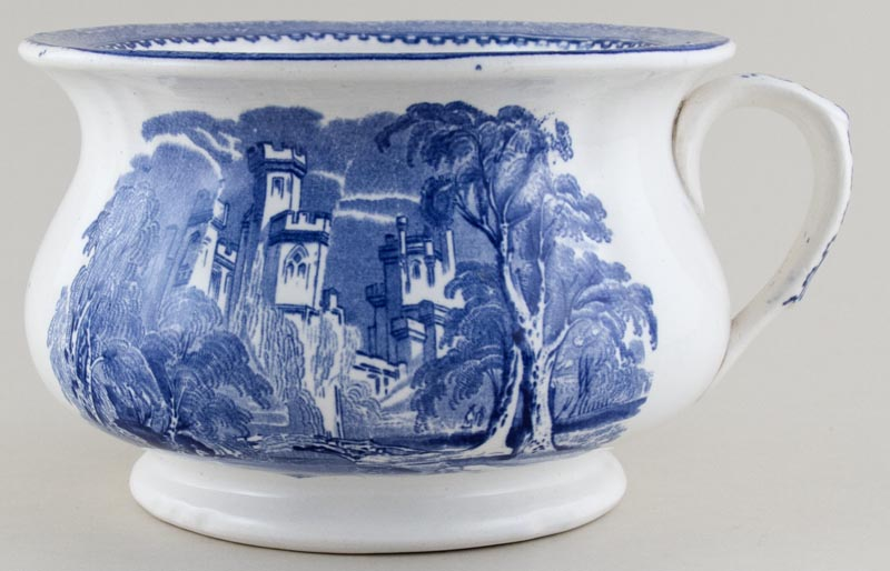 Alcock Priory Chamber Pot c1855