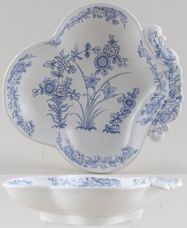 Spode Chinese Flowers Dish c1820