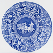 Spode Greek Plate c1860
