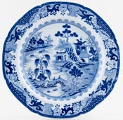 Masons Turner Willow Plate c1815