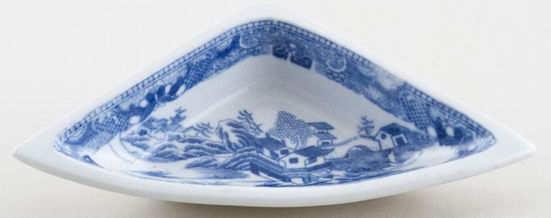 Unattributed Maker Two Temples Dish small hors d'oeuvres c1810