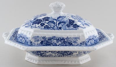 Minton Royal Persian Vegetable Dish with Cover c1830