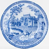 Rogers Camel Soup Plate c1820s