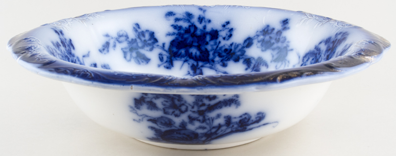 Unattributed Maker Unidentified Pattern Bowl large c1850