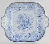 Minton Number 24 Bread and Butter or Cake Plate c1830
