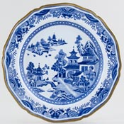 Spode Bridge Plate c1810