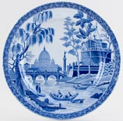 Spode Rome Plate c1830