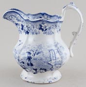 Unattributed Maker Canton Jug or Pitcher c1840