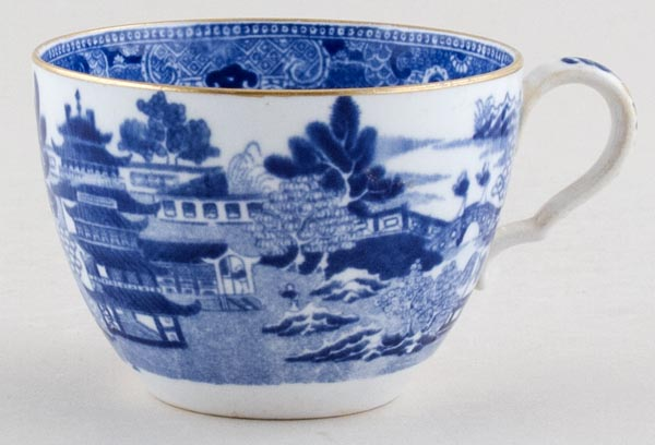 Unattributed Maker Two Temples Teacup c1880