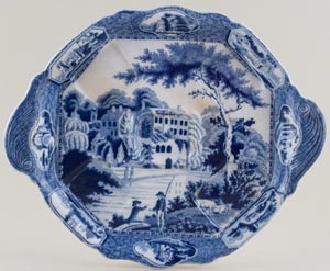 Henshall Guys Cliffe Warwickshire Condiment Tray c1820