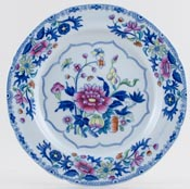 Spode Bang Up blue with colour Plate c1820