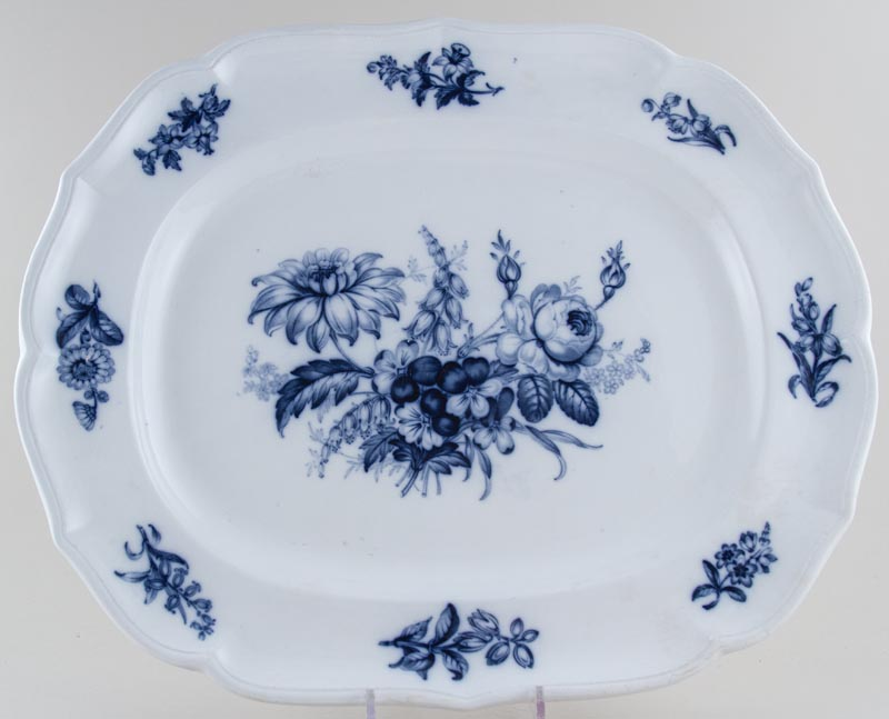 Minton Indian Groups Meat Dish or Platter c1849