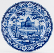 Rogers Boston State House Plate c1820