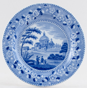 Spode Waterloo Plate c1825