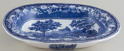 Unattributed Maker Wild Rose Dish large c1880