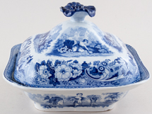 Vegetable Dish Water Gathering c1820