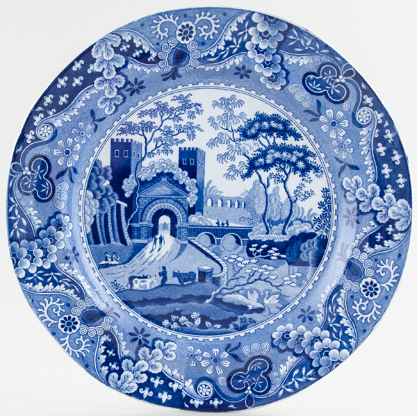 Bathwell and Goodfellow Castle Plate c1820