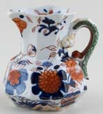Unattributed Maker Japan Basket colour Jug or Creamer Hydra c1840