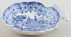 Middlesbrough Pottery Dresden Views Pickle Dish c1840