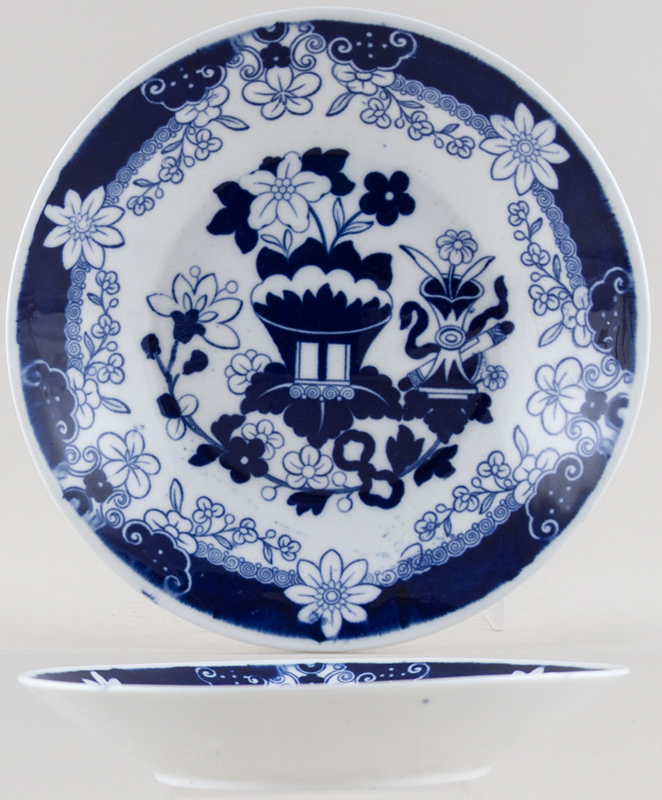 Hilditch Abstract Chinoiserie Dish shallow c1825