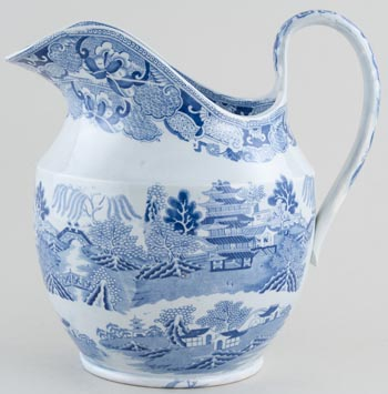 Unattributed Maker Two Temples Ewer c1840
