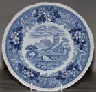 Side or Cheese Plate c1914