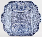 Adams Chinese Bird Bread and Butter Plate c1930s