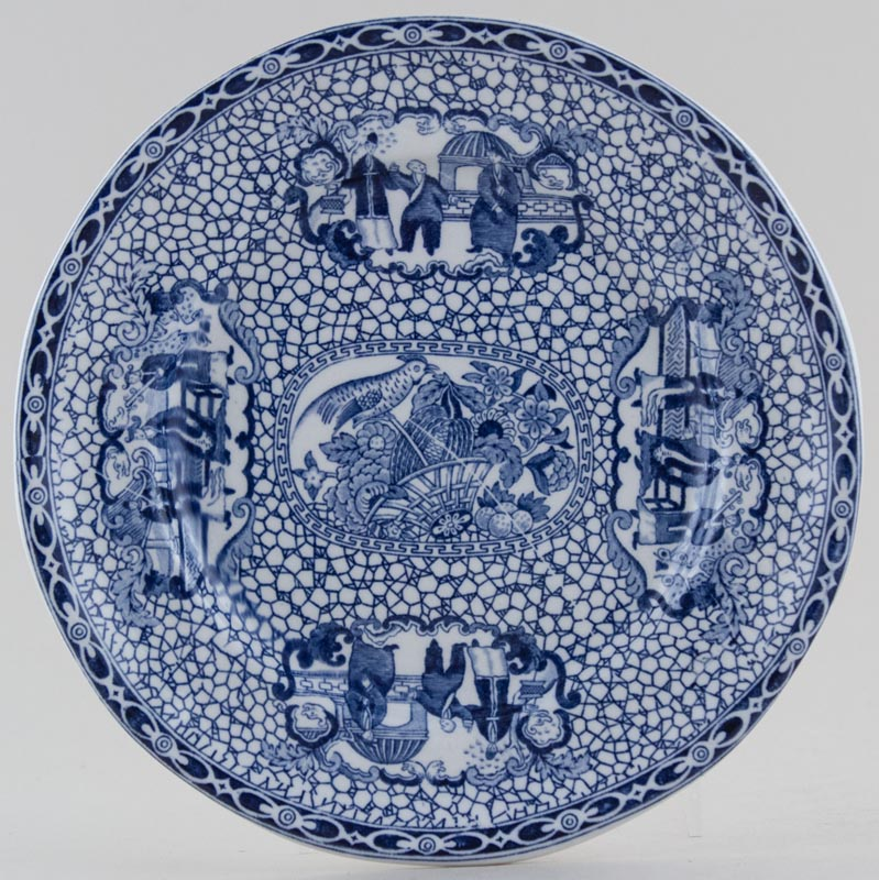 Adams Chinese Bird Plate c1930s