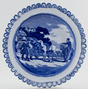 Plate Sells Mr Grizzle c1910