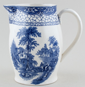 Adams Landscape Jug or Pitcher c1930s