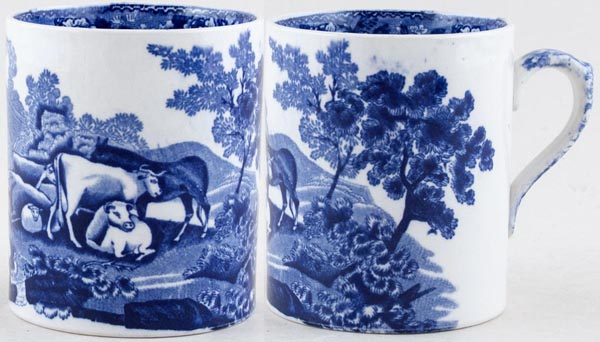 Adams Cattle Scenery Mug c1920s