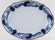 Adams Lily Meat Dish or Platter c1900