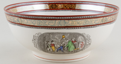 Adams Dickens Series colour Bowl  c1970