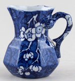 Ashworth Prunus Jug or Creamer small c1900
