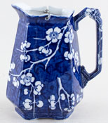 Ashworth Prunus Hot Water Jug c1900