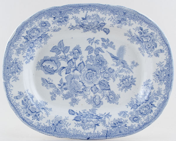 Barkers and Kent Asiatic Pheasants Meat Dish or Platter c1900