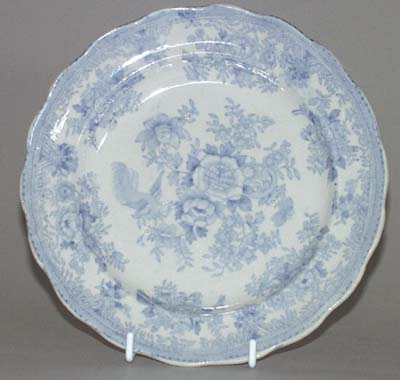Booths Asiatic Pheasants Plate c1885