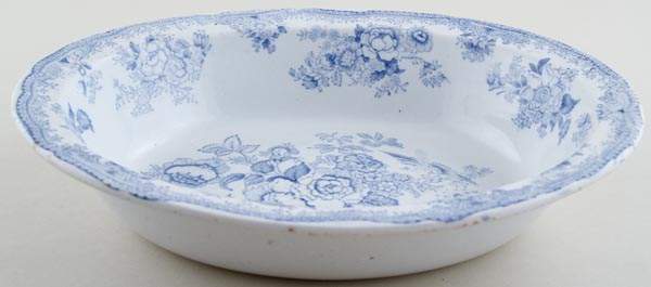 Ashworth Asiatic Pheasants Pie Dish c1900