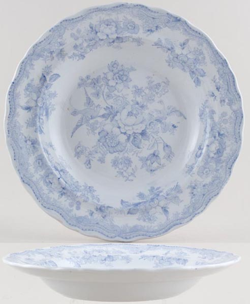 Wedgwood and Co Asiatic Pheasants Soup Plate c1880