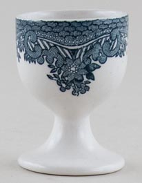 Wedgwood and Co Asiatic Pheasants green Egg Cup c1970