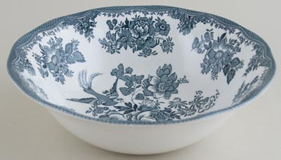 Wedgwood and Co Asiatic Pheasants green Bowl c1970