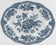 Wedgwood and Co Asiatic Pheasants green Meat Dish or Platter c1970