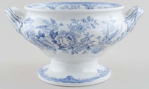 Booths Asiatic Pheasants Soup Tureen c1870